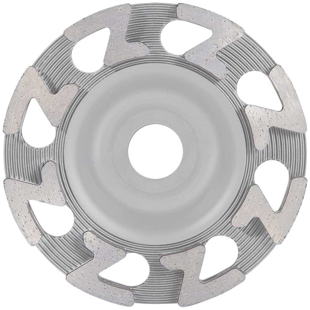 21 X 5 Inch Diamond Grinding Cup concrete stone travertine floor coating mortar