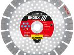 Shoxx RX13 diamond blade - by SAMEDIA - 230 mm