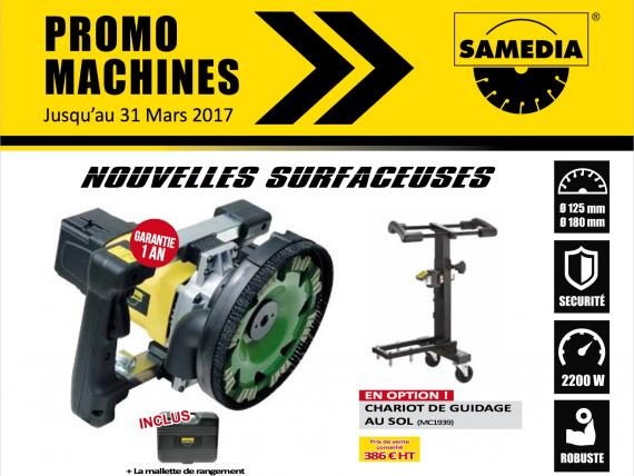 Promo machines SAMEDIA T1-2017