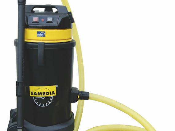 VAC 500 vacuum cleaner, by SAMEDIA, for water and dust