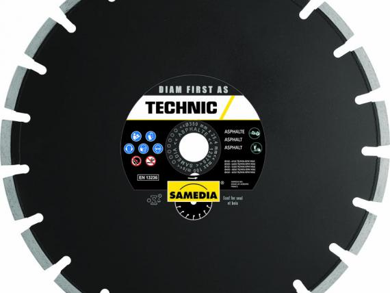 Disque de découpe asphalte TECHNIC DIAM FIRST AS