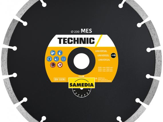 TECHNIC MES universal diamond blade, by SAMEDIA