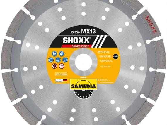 SHOXX MX13 high end diamond blade, by SAMEDIA