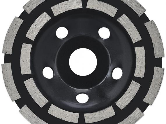 TECHNIC STB - A double row cup wheel made for concrete grinding, by SAMEDIA