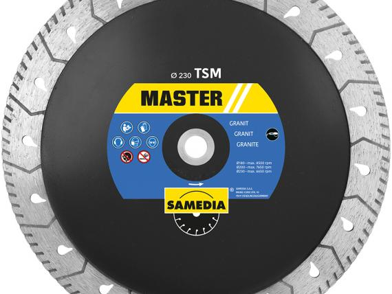 MASTER TSM granite diamond blade, by SAMEDIA - View 1