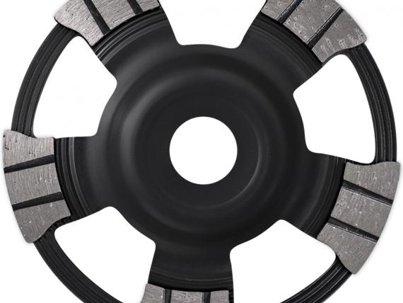 MASTER UBM high-end diamond cup wheel for concrete products, by SAMEDIA