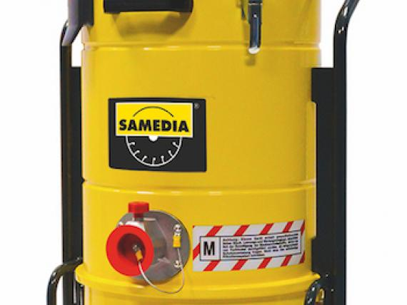 Dust extractor VAC 650 by SAMEDIA