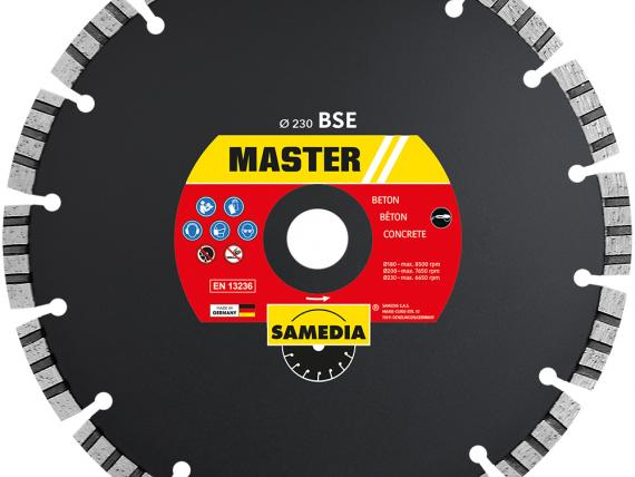 MASTER BSE 230 mm Diamond blade