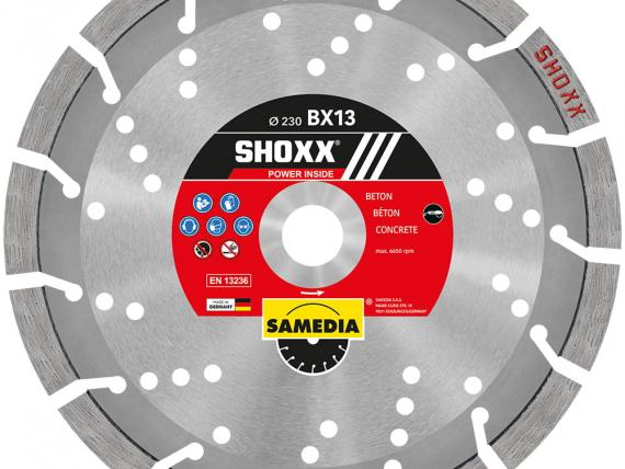 Shoxx BX13 by SAMEDIA - 230 mm