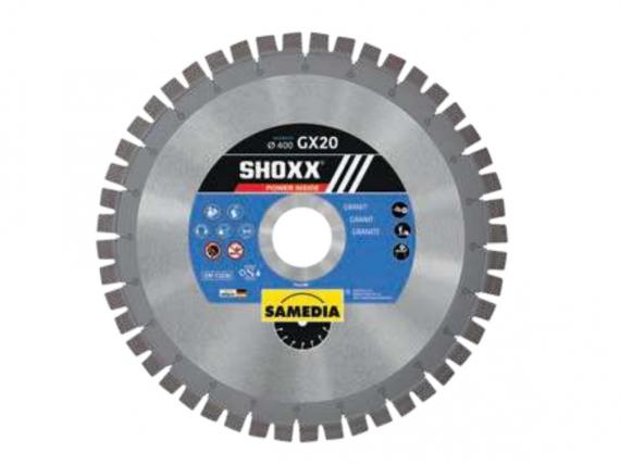 SHOXX GX20 top level GRANITE diamond blade, for table and bridge saws - by SAMEDIA