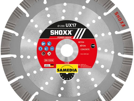 Shoxx UX17 diamond blade - Only by SAMEDIA