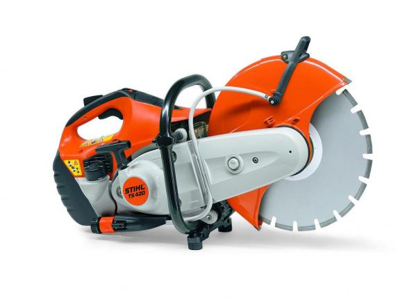 Découpeuse thermique STIHL TS420 by SAMEDIA