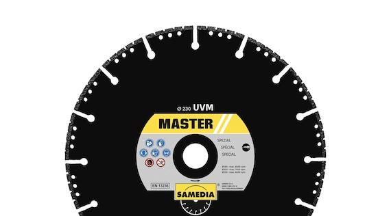 Vacuum brazed diamond blades by SAMEDIA